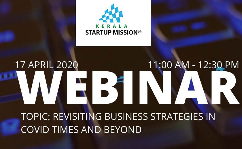 Revisiting Business Strategies in Covid times and Beyond – A free Webinar