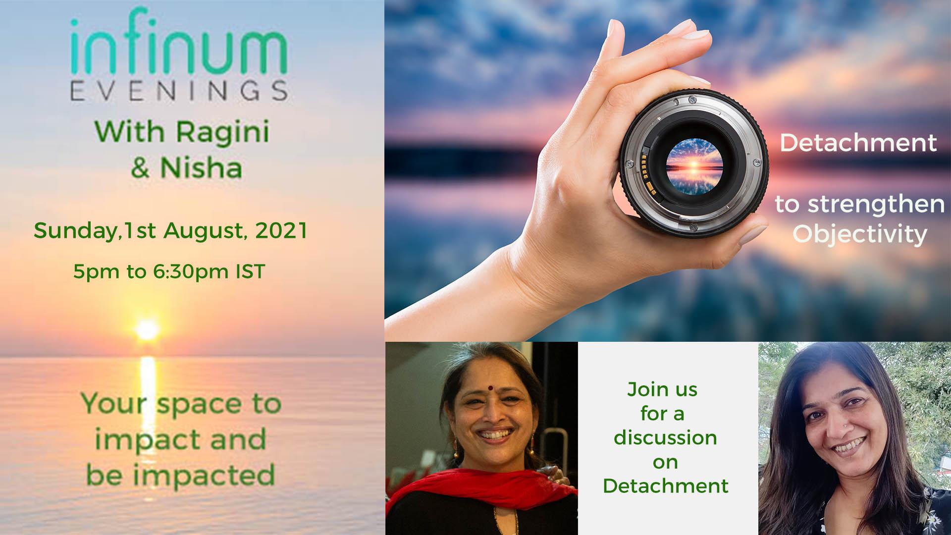 Infinum Evenings: Detachment – To Strengthen Objectivity: 1st Aug, 2021