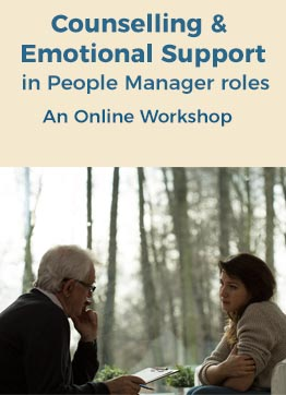Counselling & Emotional Support in People Manager roles – Online Workshop