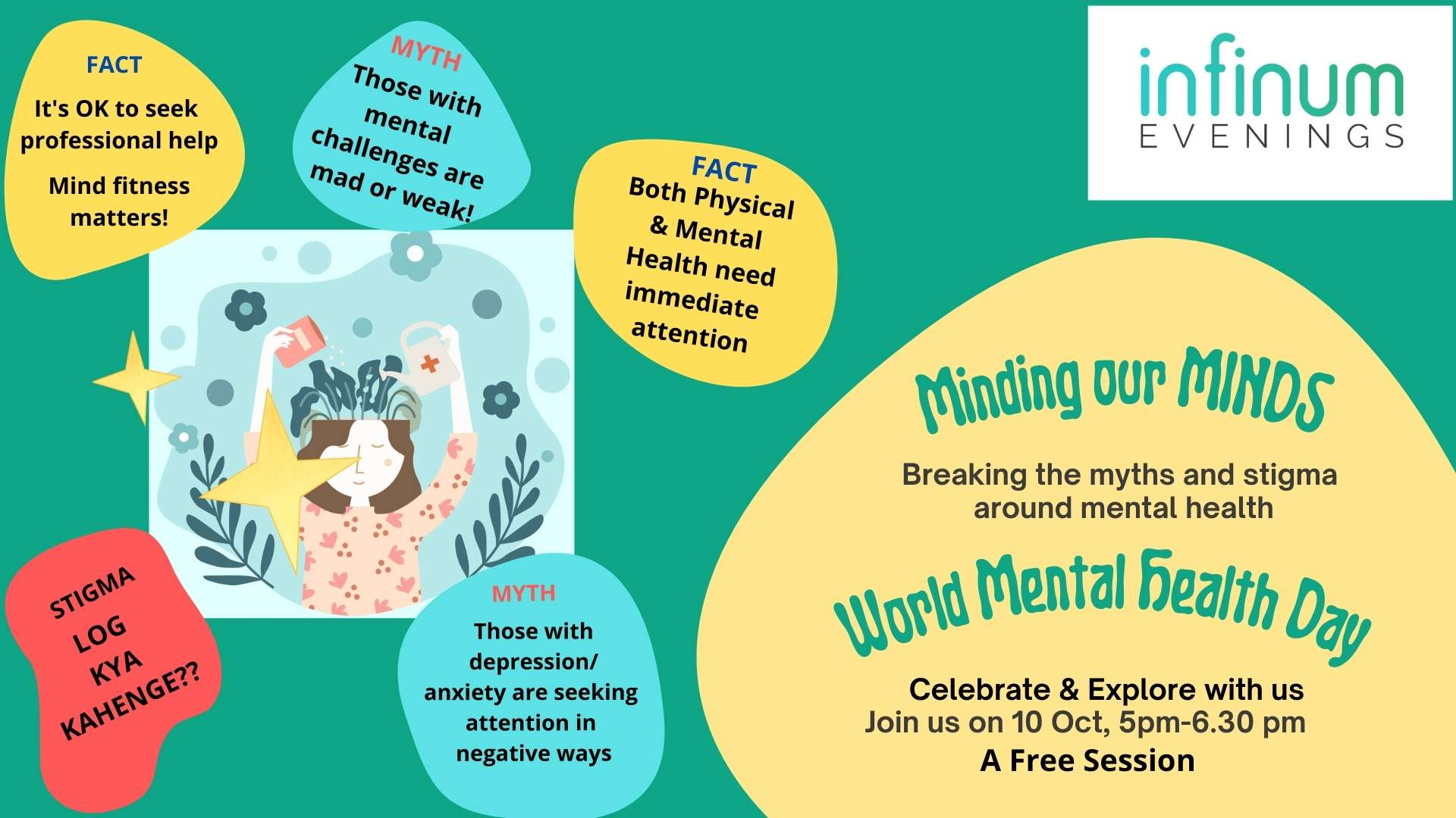 Infinum Evenings: Minding our Minds – Breaking Myths & Stigma; World Mental Health Day